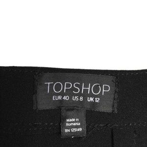 Topshop Skirts - Topshop Asymmetric Ruched Skirt Size 8